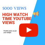 get high watch time views